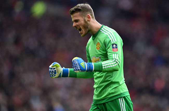 De Gea named United's player of the year