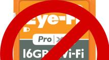 Eye-Fi Karten vor 2015 sind ab September nicht mehr zu gebrauchen