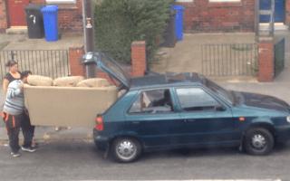 Car-loading family lacks spatial awareness