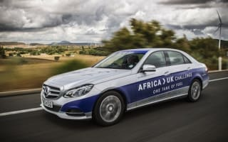 Mercedes E-Class drives from Africa to UK on one tank of fuel