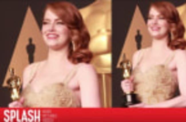 La réaction d'Emma Stone après la gaffe aux Oscars