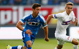 Genk 1 Gent 1 (6-3 agg): Unlikely goalscorer Castagne secures history for the hosts