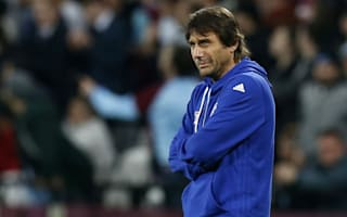 Chelsea were 'unlucky' with missed chances, insists Conte