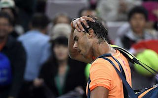 Nadal and Kyrgios suffer surprise Shanghai Masters defeats