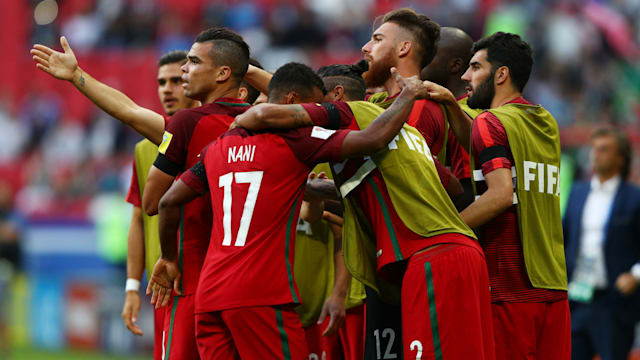 Ronaldo's Portugal held by Mexico at Confederations Cup