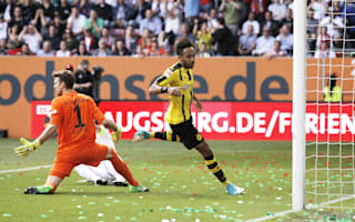 Augsburg 1 Borussia Dortmund 1: Aubameyang salvages draw