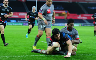 Rampant Ospreys earn home quarter-final, injury scare for Giles