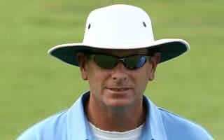 India-England umpire takes ball to the head