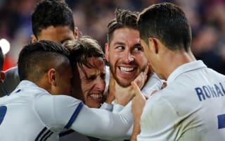 Scissor-kick, no slicing - Ramos nets brilliant volley in Real Madrid training