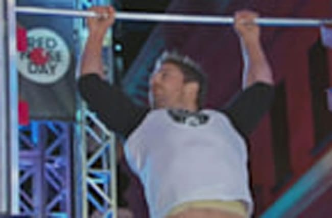 Stephen Amell CRUSHES American Ninja Warrior Course & Salmon Ladder
