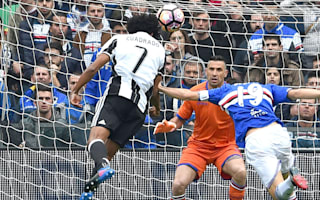 Sampdoria 0 Juventus 1: Cuadrado strike ends Samp run