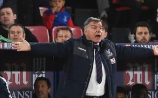Work rate key to Palace win over Arsenal - Allardyce
