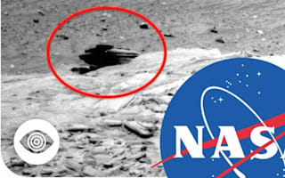 Is NASA hiding alien buildings on Mars?