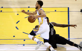 Warriors rout Leonard-less Spurs to edge closer to NBA Finals