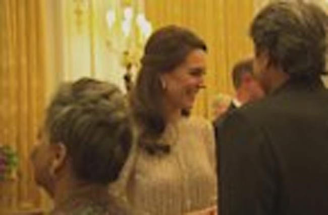 Royal Family hosts reception at Buckingham Palace