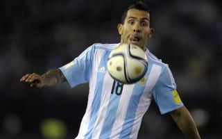 Argentina recall Tevez for initial Copa America squad