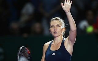 Halep thrilled with winning start in Singapore