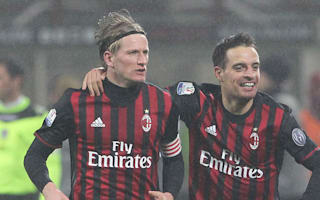 AC Milan 2 Torino 1: Suso stars in second half turnaround