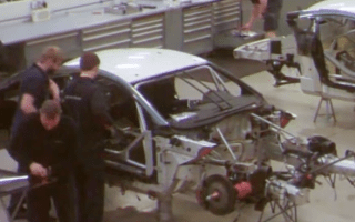 Incredible time lapse video shows Aston Martin build