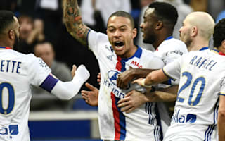 Lyon's Memphis Depay revels in two-goal performance