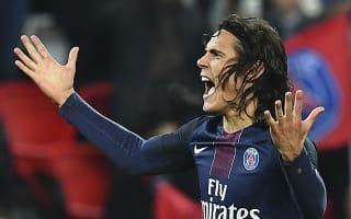 Paris Saint-Germain 4 Rennes 0: Champions cruise but Cavani limps off