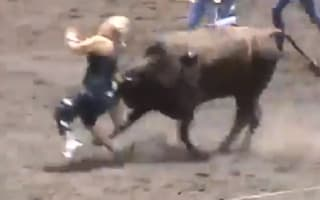 Video: Woman gored and trampled by bull at rodeo event