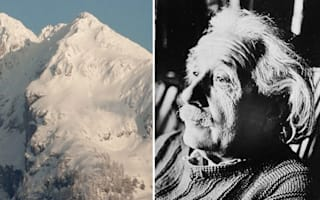 Alp-ert Einstein! Austrian mountain resembles famous physicist
