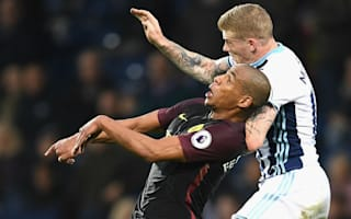 Guardiola glad to see Fernando stand tall