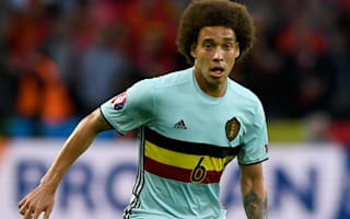 'Life goes on' - Witsel reacts to failed Juve transfer