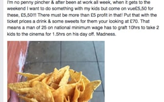 Father's anger at £70 cinema trip: what could he have done?