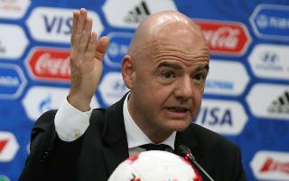 FIFA chief Infantino calls for zero tolerance on child abuse