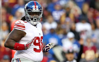 Giants' Harrison to use 'Madden' skills against Packers