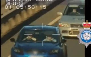 144mph drivers spared prison