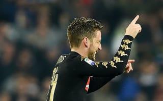 Mertens has a family situation - De Laurentiis hints at Napoli exit