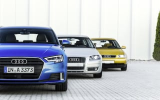 Audi celebrates two decades and three generations of A3