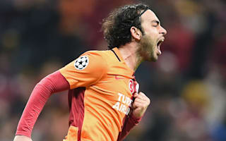 Four sent off in Trabzonspor's loss to Galatasaray