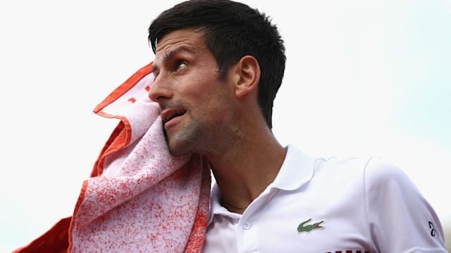 Agassi stars as Djokovic romps to second-round win