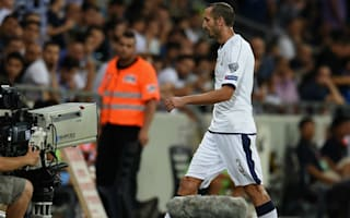Chiellini used up all his errors, jokes Ventura