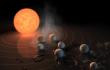 NASA: existe un sistema solar con siete planetas parecidos a la Tierra