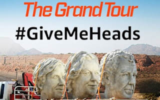 Amazon gives UK Grand Tour fans the chance to win one of presenters' massive heads
