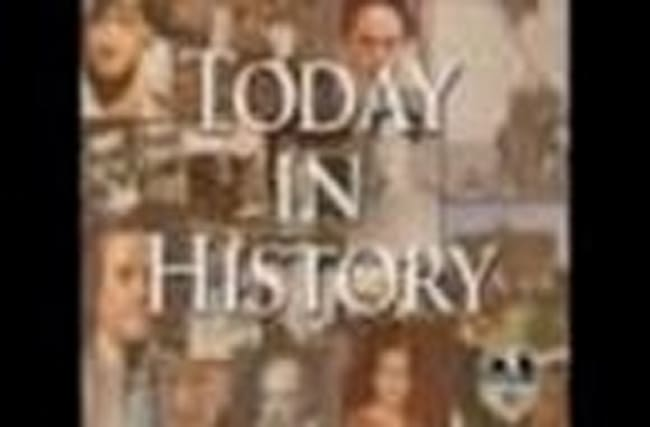 Today in History for September 25th
