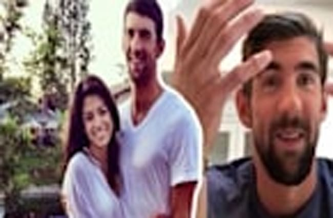 Michael Phelps Got Married!