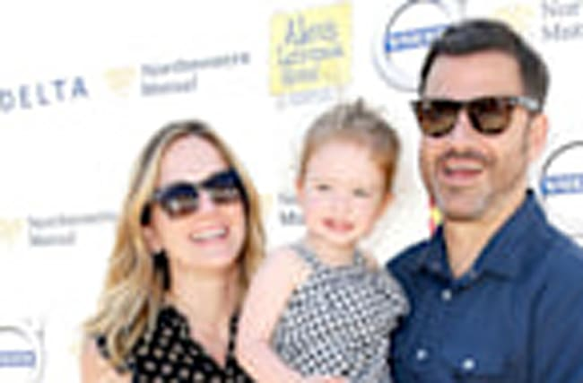 Jimmy Kimmel's 2-Year-Old Daughter Does Hilarious Impression of Her Pregnant Mom!