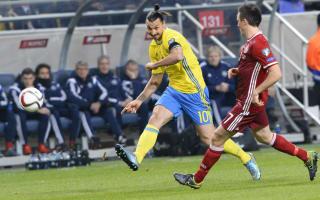 Sweden 2 Denmark 1: Forsberg, Ibrahimovic earn narrow advantage
