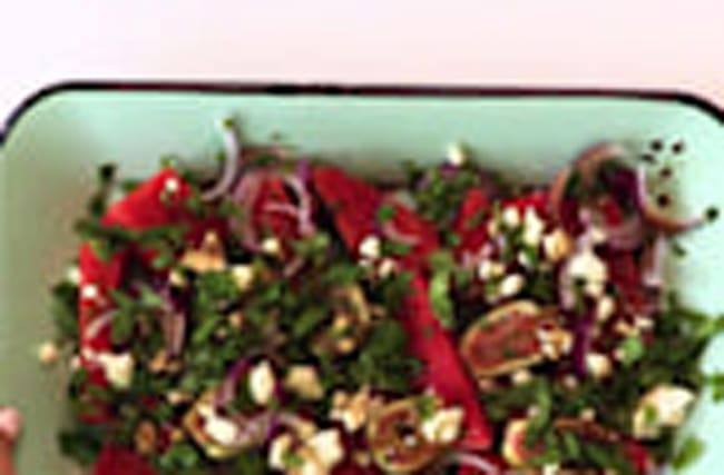 How to Make Summer Fig and Watermelon Salad with Feta