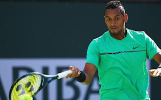 Impressed Federer hopes Kyrgios form leads to 'great' things