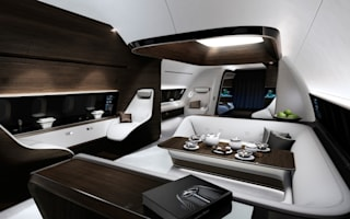 Mercedes designs luxury aircraft cabin