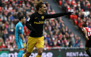 Athletic Bilbao 2 Atletico Madrid 2: Griezmann magic rescues point