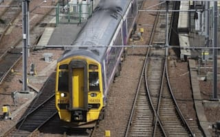 Train driver hospitalised after stones thrown at his window