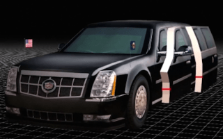 Take a look at Trump's future presidential limo